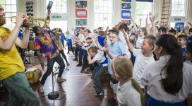 The Spark Arts for Children celebrates funding success